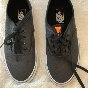 Kids Vans Off The Wall 4 Black Tennis Shoes